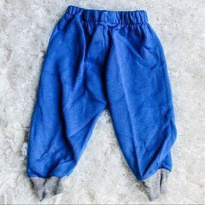 Blue vintage joggers